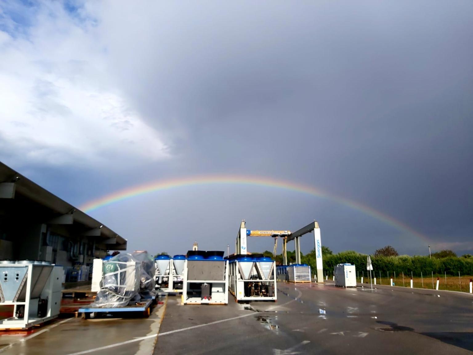 rainbow BlueBox